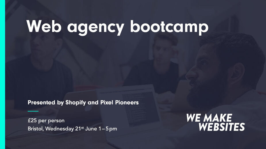 Web Agency Bootcamp Graphic
